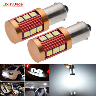 AU16.99 • Buy 2 X White BAX9S H6W 433C 150° Pins 3030 LED Car Interior Dome Map Bulb Sidelight