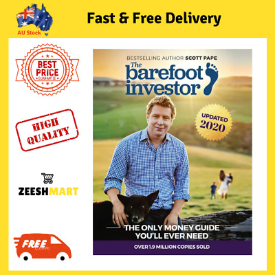AU23.10 • Buy The Barefoot Investor Book By Scott Pape 2019 Update - Paperback
