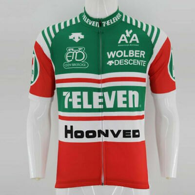 AU26.72 • Buy Retro 1986 7 Eleven Davis Phinney  Cycling Jerseys Short Sleeve