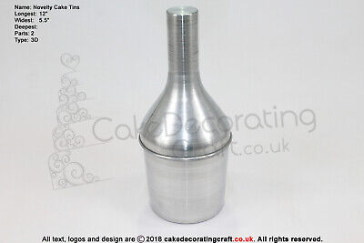 3D Novelty Cake Baking Tins And Pans | 3D Hennessy Bottle Cake Shape  • 11.39£
