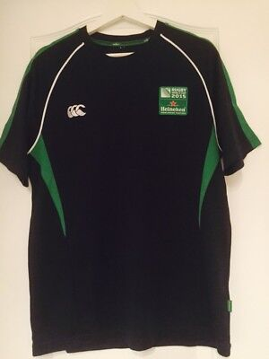 Irish Rugby World Cup 2015 Men's T-Shirt Large Size Excellent Condition • 7.99£