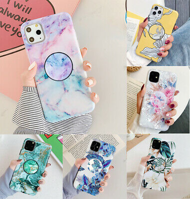 AU13.98 • Buy CHIC Marble Put Up Holder Shockproof Case Cover F IPhone X XS 11 12 Pro Max 8 6S