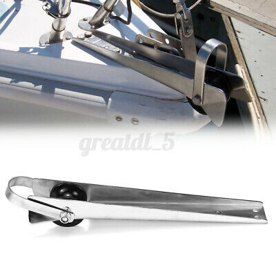 15'' Bow Anchor Rubber Roller For Fixed Marine Boat Docking 316    *.* *CN* • 33.93£