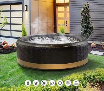 MSPA EXOTIC Family Inflatable Hot Tub Portable Spa Jacuzzi 6 Person Home Holiday • 44.99£