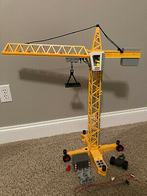 £33.31 • Buy Playmobil 3262 Electric Yellow Crane With Moving Parts And Worker