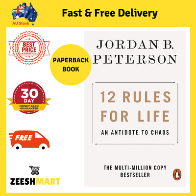 AU17.57 • Buy 12 Rules For Life: An Antidote To Chaos By Jordan B. Peterson | PAPERBACK BOOK