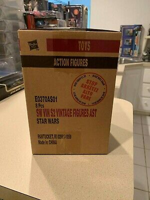 $ CDN157.88 • Buy Star Wars The Vintage Collection Wave 1 Case Of 8 (E0370AS01) SEALED AFA Ready?