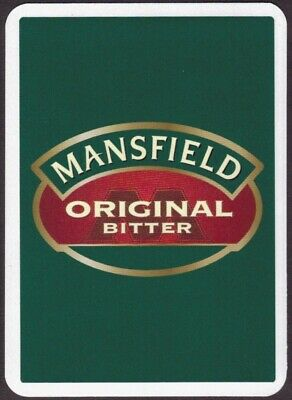 £1.35 • Buy Playing Cards Single Card Old Wide MANSFIELD BITTER Brewery Beer Advertising Art