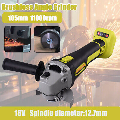 18V Brushless Rechargeable Angle Grinder Polisher Cutting Machine Compact  • 50.21£