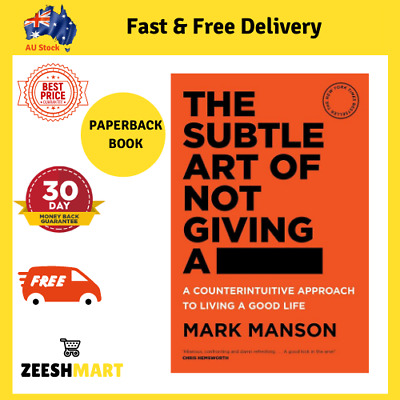 AU24.89 • Buy The Subtle Art Of Not Giving A F*ck | PAPERBACK BOOK  FREE SHIPPING AU