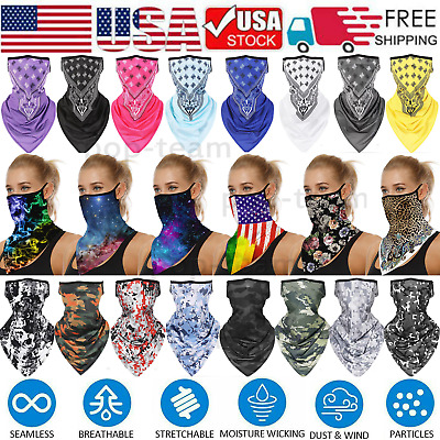 $12.99 • Buy Outdoor Breathable Balaclava Neck Gaiter Tube Bandana Face Mask Cover Shield