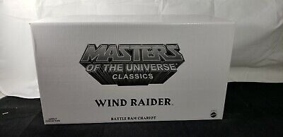 $59.99 • Buy MASTERS OF THE UNIVERSE CLASSICS WIND RAIDER Exclusive Limited Edition Vehicle