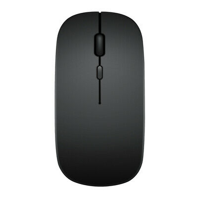 AU10.94 • Buy Dual Mode 2.4GHz Wireless + Bluetooth Mouse Rechargeable PC Mice (Black) AU