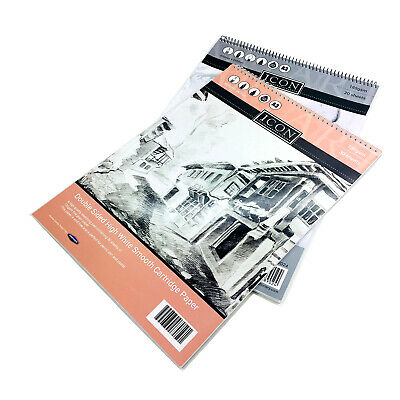 A3 Sketch Pad Book White Paper Artist Sketching Drawing Doodling Art Craft • 7.99£