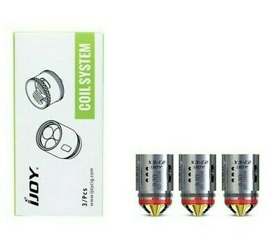 Ijoy Captain X3-c2 Replacement Coil 0.3 Ohm – Pack Of 3 • 8.99£