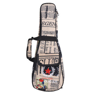 AU18.37 • Buy 24  Ukelele Bag Case Paper Pattern Oxford Backpack Adjustable Shoulder Q4Z5