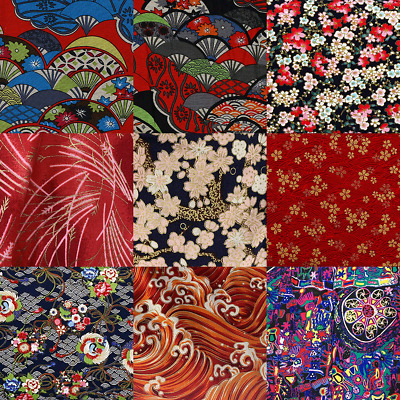 £3.89 • Buy 50x150cm Cotton Printed Fabric Japanese Style DIY Sewing For Clothes Patchwork