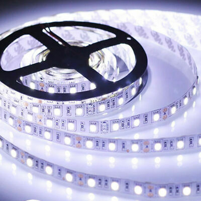 5M 3528 5050 Led Strip Lights Stick-on Roll Waterproof Flexible 12Volt Party • 6.25£