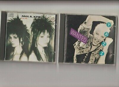 Yazz : Wanted + Mel And Kim : F.LM. / TWO CD Albums • 3.90£
