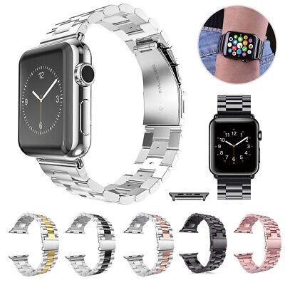 AU12.99 • Buy Stainless Steel Band For Apple Watch 5 4 3 2 1 Replacement Strap 38/40/42/44mm