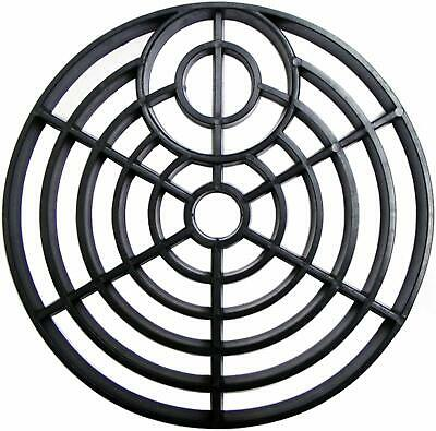"""£5.29 • Buy Drain Cover 6"""" ROUND 150mm Black Plastic Grate Gulley Grid Leaf Guard Gutter"""