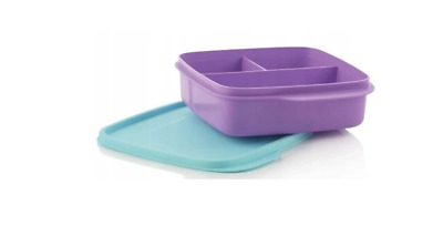 TUPPERWARE Divided Lunch Meal Box 550ml NEW Special Offer • 6.99£