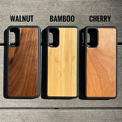 AU15.29 • Buy Natural Wood Case For Galaxy S20 S20+ Ultra S10 S10+ S9 S8 S7 + Note 9 10 20 +
