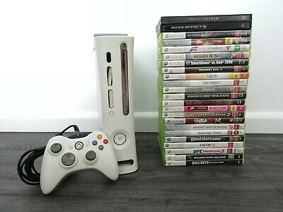AU249.95 • Buy Xbox 360 Console Bundle 60GB Console + Controller, 23 Games & Power Supply