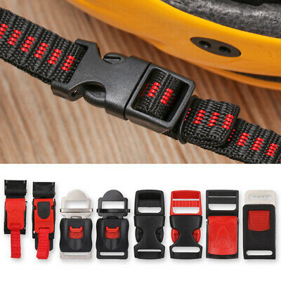 £4.52 • Buy Motorcycle Cycling Helmet Chin Strap Speed Sewing Clip Quick Release Buckle