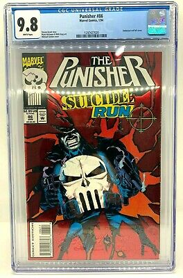 AU149 • Buy The Punisher: Suicide Run  #86 Marvel Comics, 1/94 CGC Rated 9.8