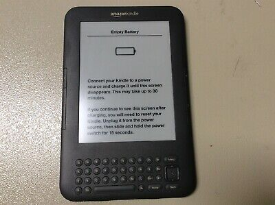 AU99 • Buy [C] Genuine Amazon Kindle E-Reader 6  D00901 3rd Gen 4GB Touch WiFi Ink Display