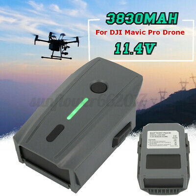 AU99.99 • Buy 11.4V 3830mAh Rechargeable Intelligent Flight Battery For DJI Mavic Pro Drone AU