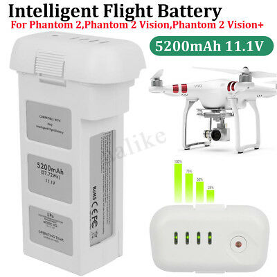 AU85.99 • Buy For DJI Phantom 2 Vision Intelligent Flight 3S Spare Battery 5200mAh 11.1V  AU