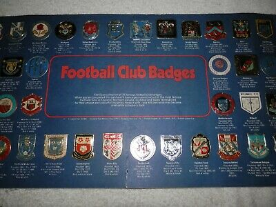 The Esso Collection Of Football Club Badges Minus Three • 20.60£