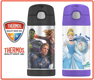 AU24.80 • Buy ❤ THERMOS Kid Stainless Vacuum Insulated Flask Drink Hydration Bottle 355ml ❤