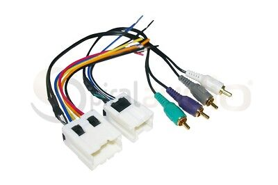$11.99 • Buy Radio Wire Harness AMP For Aftermarket Radio Stereo Installation WH-0016