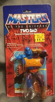 $299 • Buy Masters Of The Universe Two Bad, MOC, Factory Sealed, Vintage Mattel