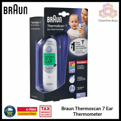 AU115 • Buy Braun ThermoScan 7 IRT6520 Digital LCD Ear Thermometer For Kids & Adults