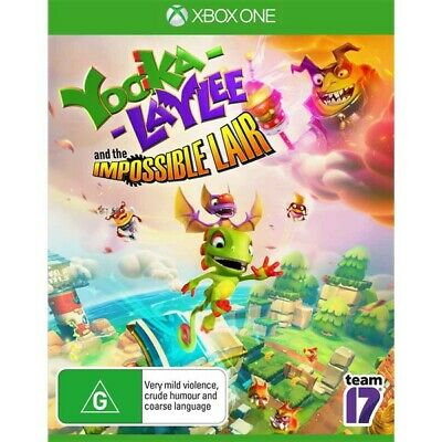 AU24.99 • Buy Yooka Laylee And The Impossible Lair - Brand New And Sealed - Xbox One Game