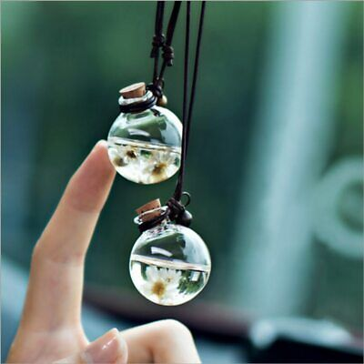 AU11.58 • Buy Hanging Car Perfume Pendant Refillable Essential Oil Humidifier For Automotive