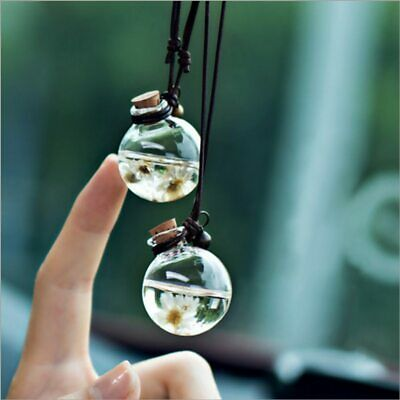 AU12.87 • Buy Hanging Car Perfume Pendant Refillable Essential Oil Humidifier For Automotive