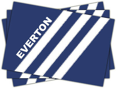 20 X Everton FC Stickers EFC Shirt Flag Scarf Badge Goodison Park Toffees • 1.99£