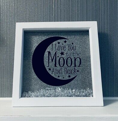 I Love You To The Moon And Back Frame • 10£
