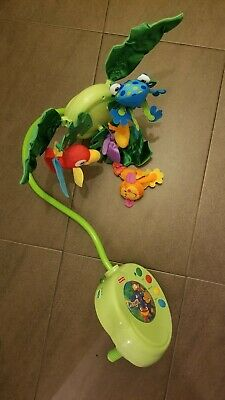 £19.99 • Buy Fisher Price Rainforest Cot Mobile With Remote Control