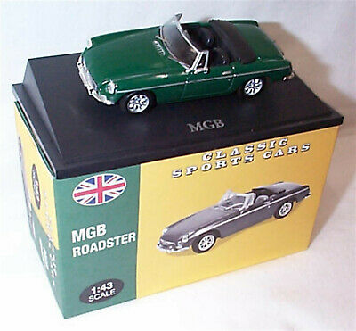 MGB Roadster Green 1:43 Scale Atlas 4656106 Classic Sports Cars New Boxed • 16.75£