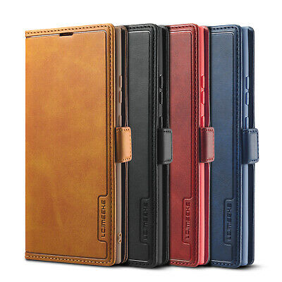 $ CDN10.21 • Buy Case For Samsung Galaxy S21 Plus S21Ultra S20+ Note 20 Leather Flip Wallet Cover