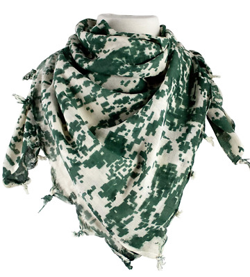 $9.99 • Buy Shemagh 100% Cotton Military Tactical ACU Scarf Face Covering 42 Inches