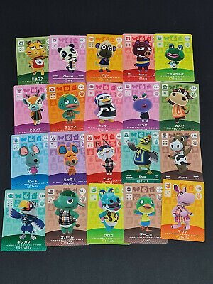AU40 • Buy Animal Crossing Amiibo Cards Lot Of 20 Cards