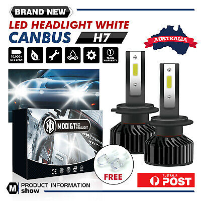 AU28.39 • Buy PHILIPS H7 490W 80000LM LED Headlight Kit Driving High Or Low Light Lamp Globes