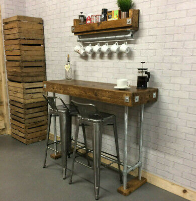 Breakfast Bar Table | Kitchen Island Table |  Restaurant  Pub Table | Hand Made • 335£